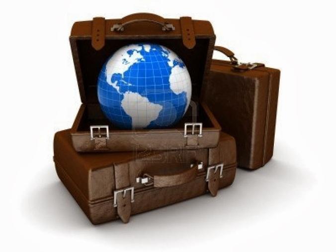 8534693-ilustracion-3d-de-pila-de-equipaje-con-el-planeta-tierra-concepto-de-viajes