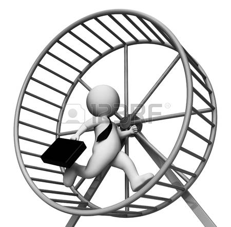 57656890-hamster-wheel-meaning-business-person-and-burdensome-3d-rendering